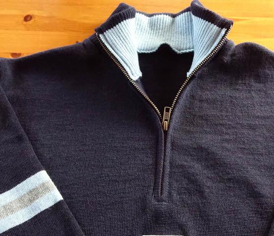 Knitwear for Corporatewear Workwear and Uniform - bespoke quarter-zip sweaters