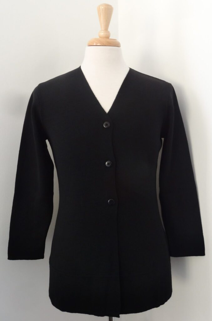 Replacement for the former Balmoral Knitwear WAME long-line cardigan