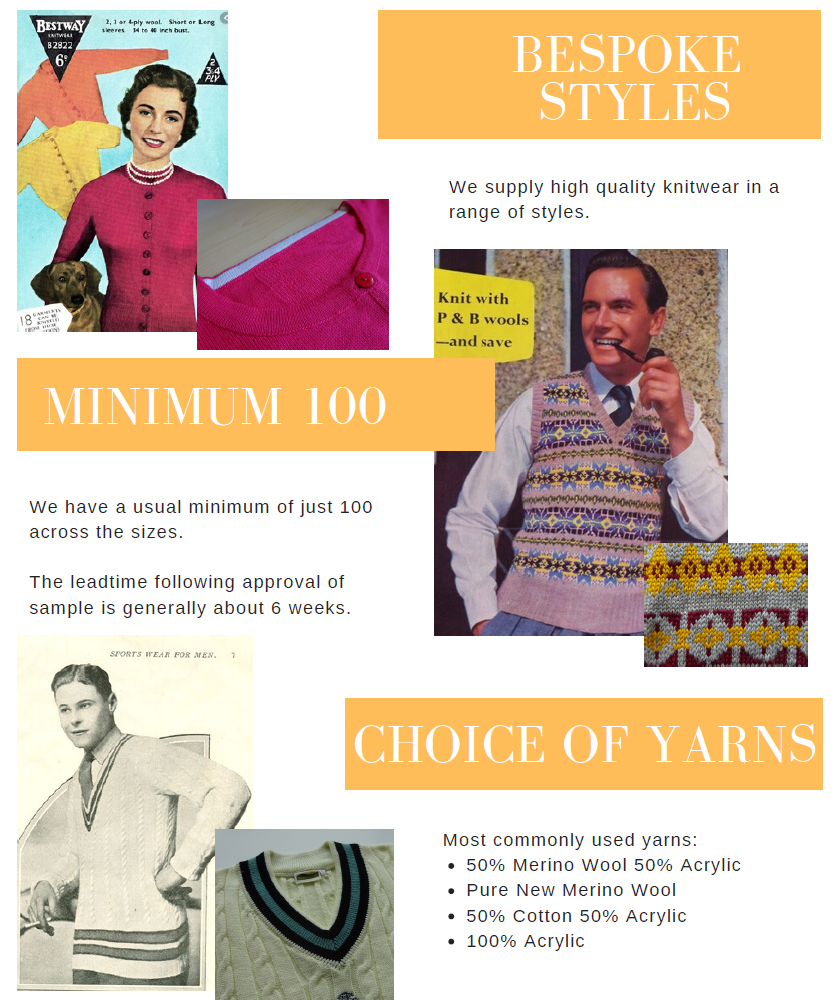 Manufacturing Vintage Knitwear Styles
