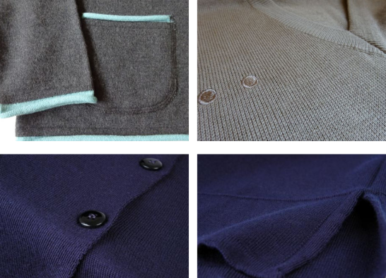 Possible corporate knitwear features